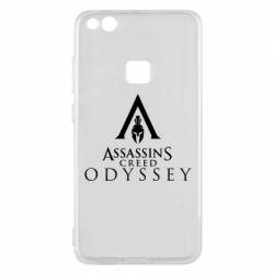 Чохол для Huawei P10 Lite Assassin's Creed: Odyssey logotype - FatLine