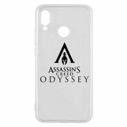 Чохол для Huawei P20 Lite Assassin's Creed: Odyssey logotype - FatLine