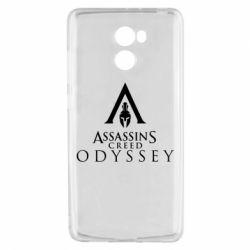 Чохол для Xiaomi Redmi 4 Assassin's Creed: Odyssey logotype - FatLine