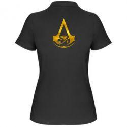 Жіноча футболка поло Assassin's Creed Origins logo