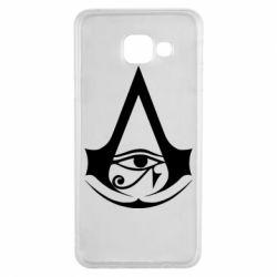 Чохол для Samsung A3 2016 Assassin's Creed Origins logo