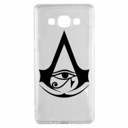 Чохол для Samsung A5 2015 Assassin's Creed Origins logo