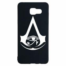Чохол для Samsung A5 2016 Assassin's Creed Origins logo