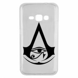 Чохол для Samsung J1 2016 Assassin's Creed Origins logo