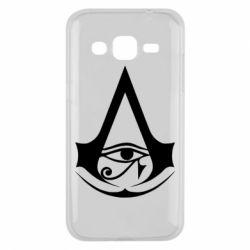 Чохол для Samsung J2 2015 Assassin's Creed Origins logo