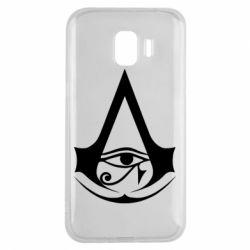 Чохол для Samsung J2 2018 Assassin's Creed Origins logo