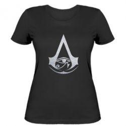 Жіноча футболка Assassin's Creed Origins logo