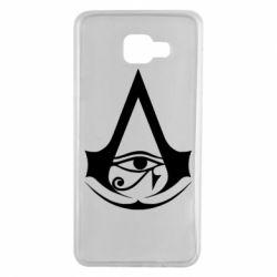 Чохол для Samsung A7 2016 Assassin's Creed Origins logo