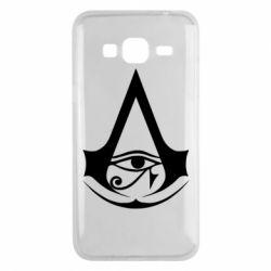 Чохол для Samsung J3 2016 Assassin's Creed Origins logo