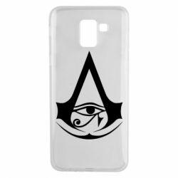 Чохол для Samsung J6 Assassin's Creed Origins logo