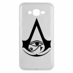 Чохол для Samsung J7 2015 Assassin's Creed Origins logo