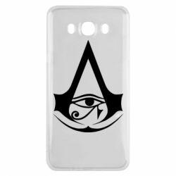 Чохол для Samsung J7 2016 Assassin's Creed Origins logo