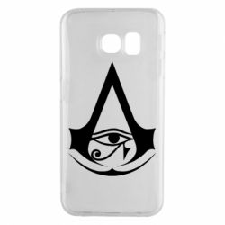 Чохол для Samsung S6 EDGE Assassin's Creed Origins logo