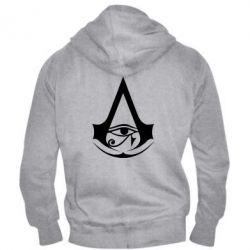 Чоловіча толстовка на блискавці Assassin's Creed Origins logo