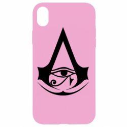 Чохол для iPhone XR Assassin's Creed Origins logo
