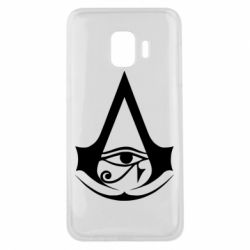 Чохол для Samsung J2 Core Assassin's Creed Origins logo