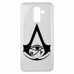 Чохол для Samsung J8 2018 Assassin's Creed Origins logo