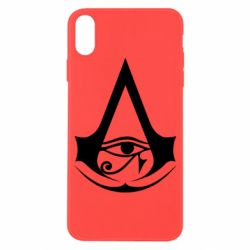 Чохол для iPhone X/Xs Assassin's Creed Origins logo