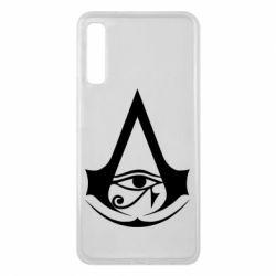 Чохол для Samsung A7 2018 Assassin's Creed Origins logo