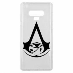 Чохол для Samsung Note 9 Assassin's Creed Origins logo