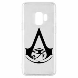 Чохол для Samsung S9 Assassin's Creed Origins logo