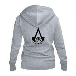 Жіноча толстовка на блискавці Assassin's Creed Origins logo