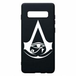 Чохол для Samsung S10+ Assassin's Creed Origins logo