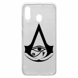 Чохол для Samsung A20 Assassin's Creed Origins logo