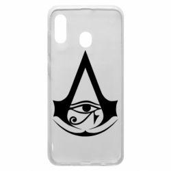 Чохол для Samsung A30 Assassin's Creed Origins logo