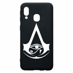 Чохол для Samsung A40 Assassin's Creed Origins logo