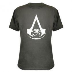 Камуфляжна футболка Assassin's Creed Origins logo