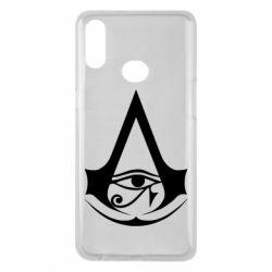 Чохол для Samsung A10s Assassin's Creed Origins logo
