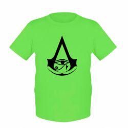 Дитяча футболка Assassin's Creed Origins logo