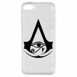 Чохол для iphone 5/5S/SE Assassin's Creed Origins logo