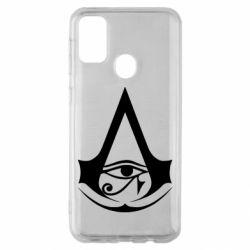 Чохол для Samsung M30s Assassin's Creed Origins logo