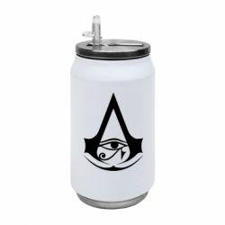Термобанка 350ml Assassin's Creed Origins logo