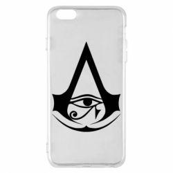 Чохол для iPhone 6 Plus/6S Plus Assassin's Creed Origins logo
