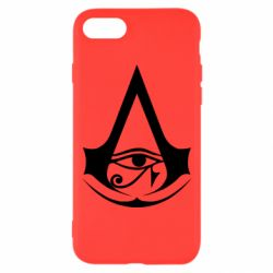 Чохол для iPhone 7 Assassin's Creed Origins logo
