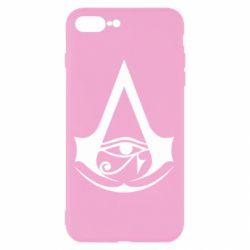 Чохол для iPhone 7 Plus Assassin's Creed Origins logo