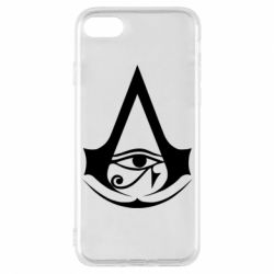 Чохол для iPhone 8 Assassin's Creed Origins logo