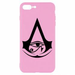 Чохол для iPhone 8 Plus Assassin's Creed Origins logo