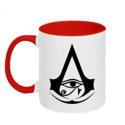 Кружка двоколірна 320ml Assassin's Creed Origins logo