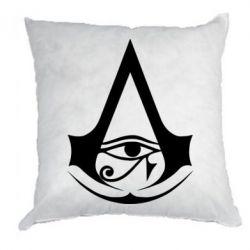 Подушка Assassin's Creed Origins logo