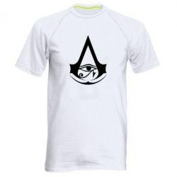 Чоловіча спортивна футболка Assassin's Creed Origins logo