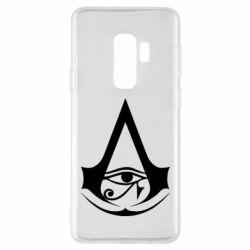 Чохол для Samsung S9+ Assassin's Creed Origins logo