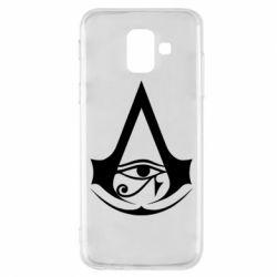 Чохол для Samsung A6 2018 Assassin's Creed Origins logo