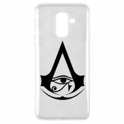 Чохол для Samsung A6+ 2018 Assassin's Creed Origins logo