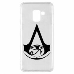 Чохол для Samsung A8 2018 Assassin's Creed Origins logo