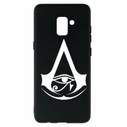 Чохол для Samsung A8+ 2018 Assassin's Creed Origins logo