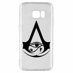 Чохол для Samsung S7 Assassin's Creed Origins logo